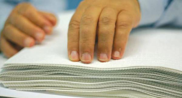 lettura con metodo braille